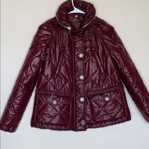 Authentic Burberry puff jacket